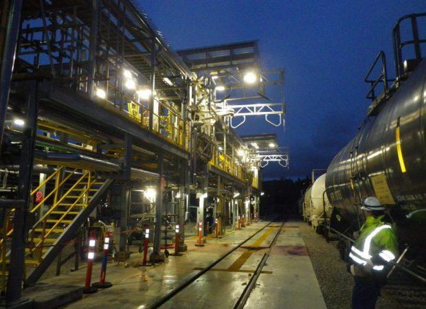 Acid and Caustic Railcar Loading Capacity Increase